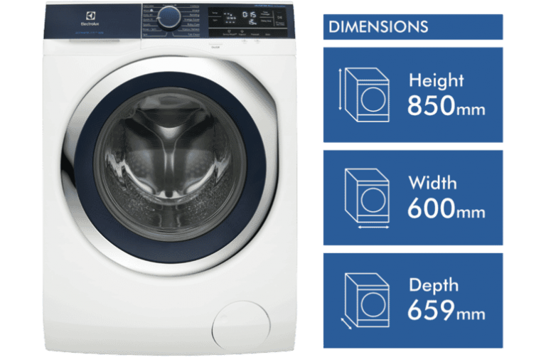 Electrolux 9kg Front Load Washing Machine