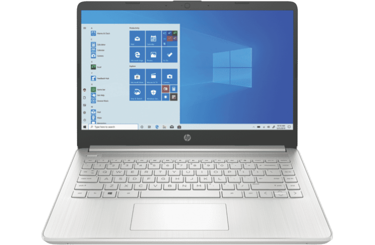 HP 14″ AMD Laptop
